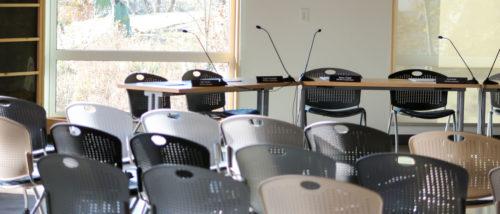 MWMO Board of Commissioners meeting room.